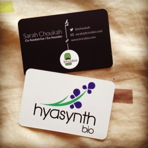 First business cards :-) by Sarah Choukah