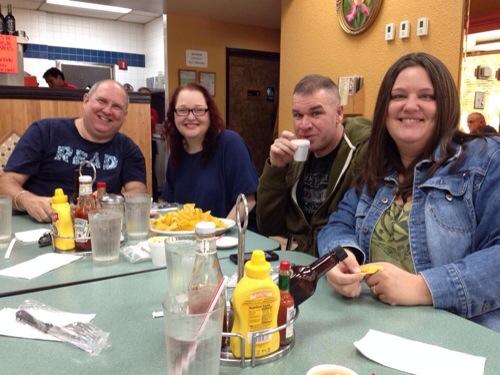 Eddy, Sheryl, Tom, Me