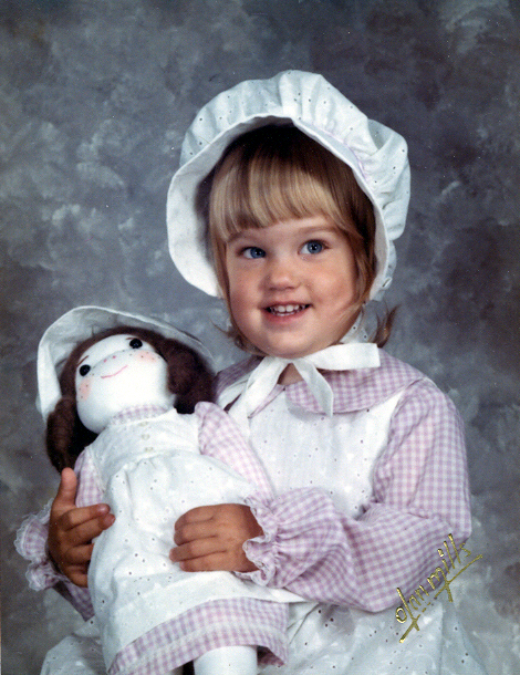 Jen with doll