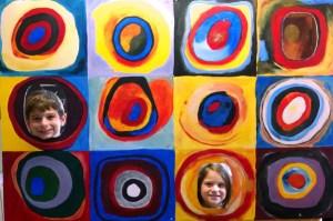 Color Study by Kandinsky