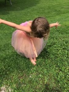 Edgar Degas' Ballerina