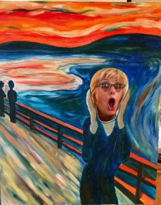 Edvard Munch, The Scream, at Russell Real Estate Services