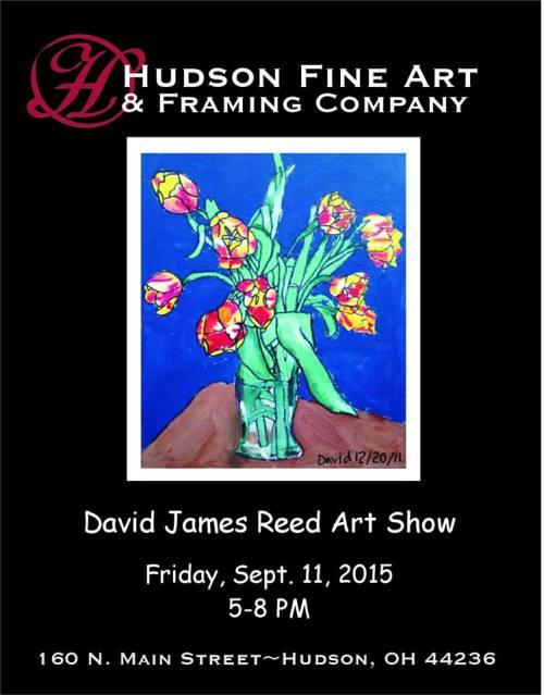 Hudson Fine Art and Framing, Reception for David James Reed