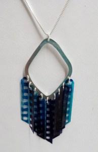 Cynde Hujarski, Sprocket Diamond Necklace