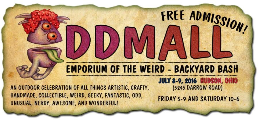The First Ever Oddmall Backyard Bash Hudson Gallery Hop