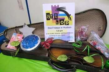 Musical Arts at the August 12 Art Hop in Hudson