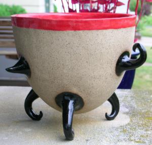 Nikki Mezic ceramic planter