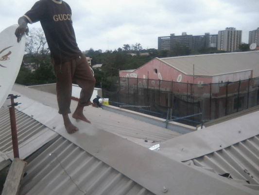 Concrete Repair and Roof Gutter Treatment5