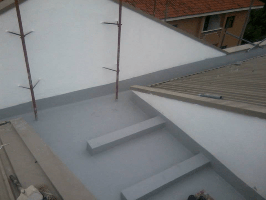 Concrete Repair and Roof Gutter Treatment6
