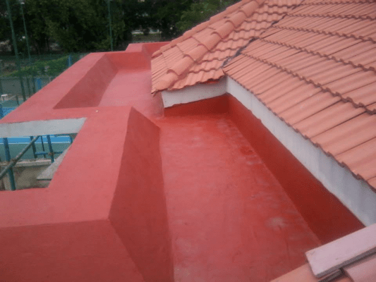 Waterproofing of Roof Terrace Using New Coat8