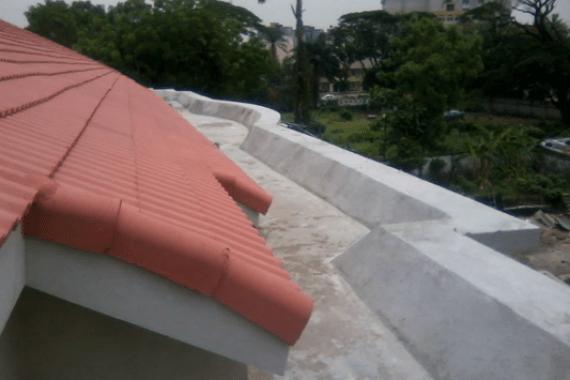 Waterproofing of Roof Terrace Using New Coat9