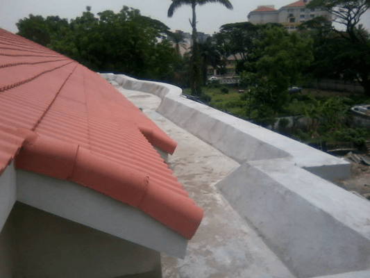 Waterproofing of Roof Terrace Using New Coat9
