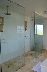 Bathroom two showers