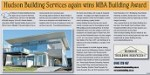 "Article ""Hudson Building Services again wins MBA Building Award"" in Narooma News"