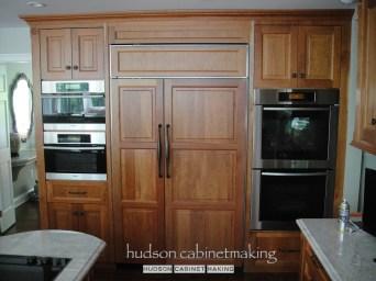 high end cherry kitchen fridge