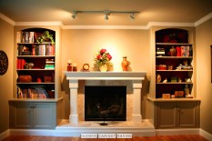 mantle and cabs