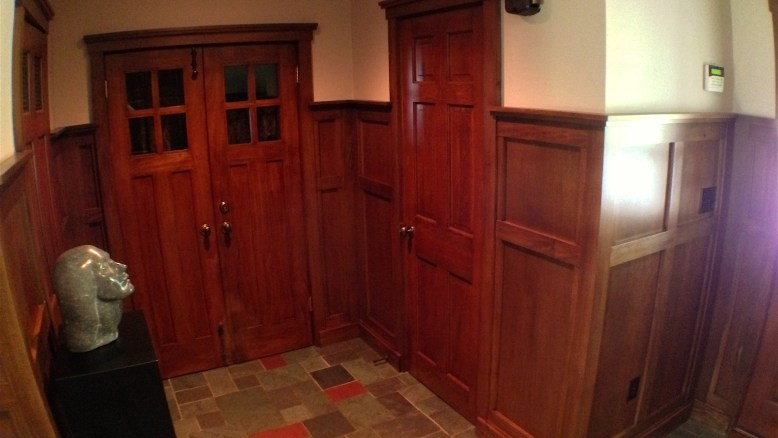 Mission Style wainscot
