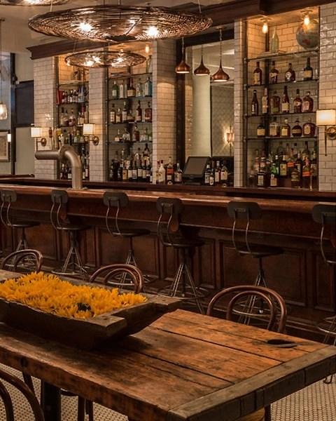 Vintage Industrial Swivel Bar Stools  Hudson Goods Blog