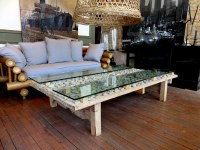 Natural Stone Coffee Table - Hudson Goods Blog