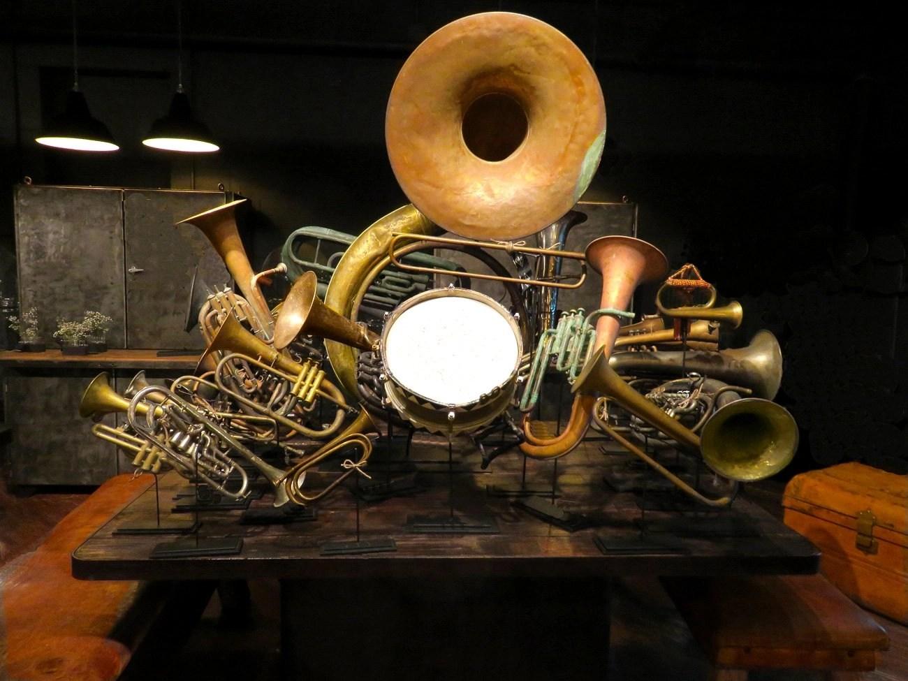 Vintage Marching Band Instruments  Hudson Goods Blog