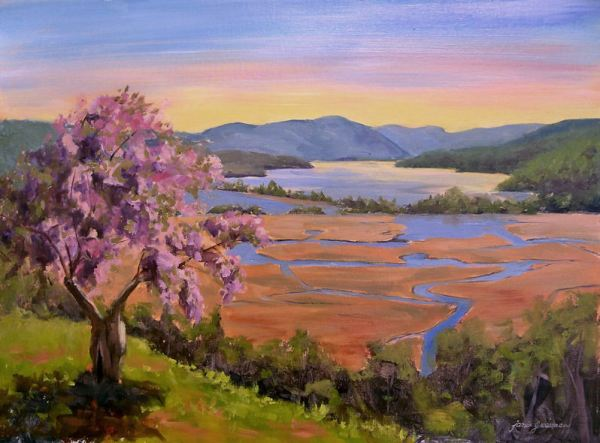 hudson valley painter flowers