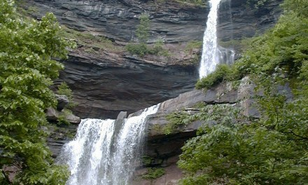 Kaaterskill Falls is a two-stage waterfall