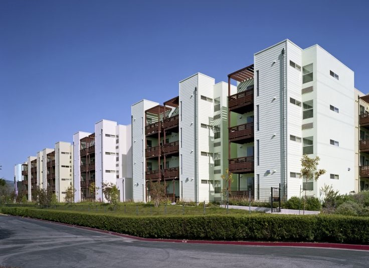 San Jose California Excellence In Affordable Housing Design At