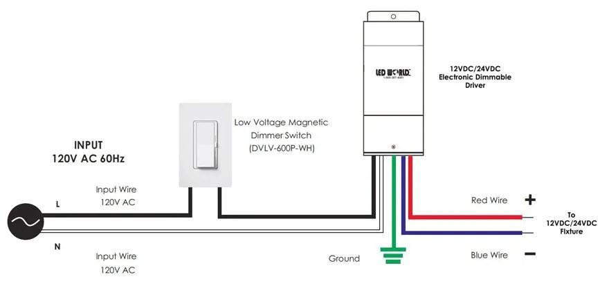 Led Dimming Driver Wiring Diagram Free Download