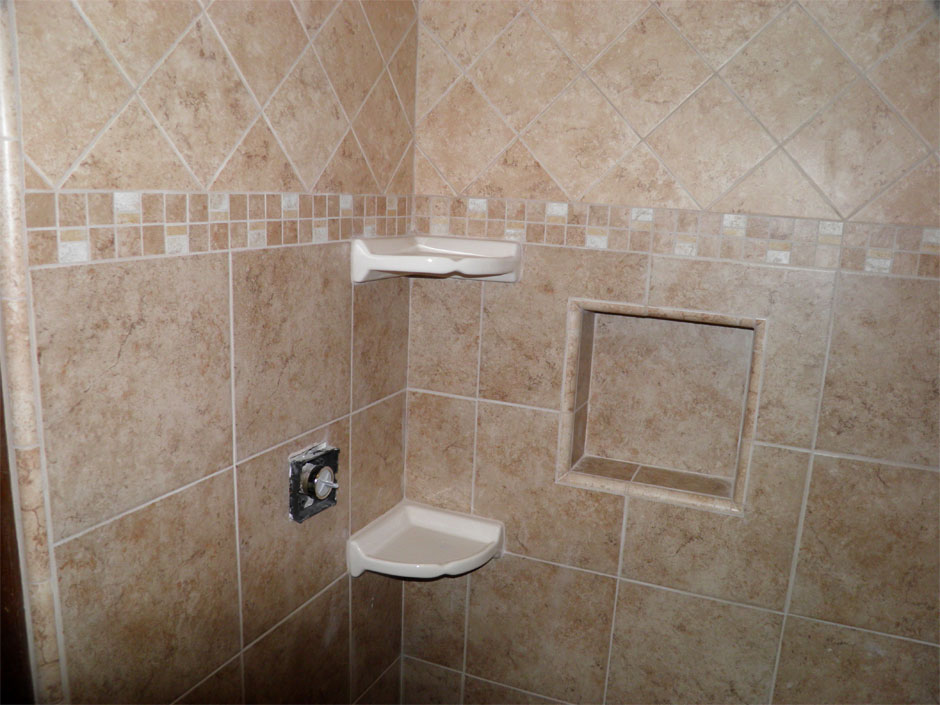 bathroom tile for floors and showers