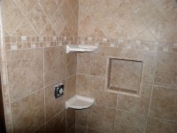 Bathroom Tile for Floors and Showers - H&H Huehl Construction