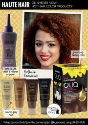 hot hair color products african