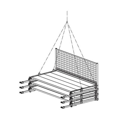 FALKO bracket scaffold provides safe working areas