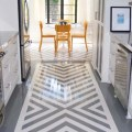 Beauty and drama painted floors