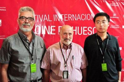 Members of the Jury of the Iberoamerican Short Film Contest