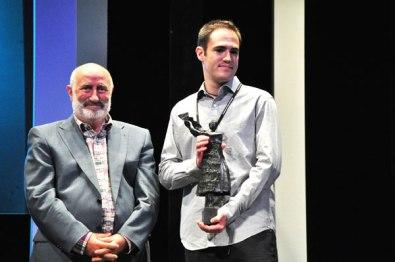 Aitor Aspe, co-director of Mi Lucha, Award Danzante of the Iberoamerican Short Film Contest