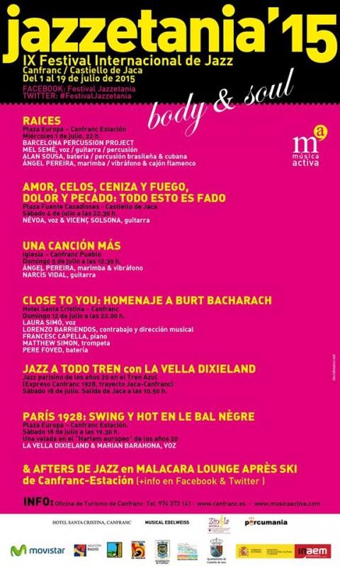 Festival Jazzetania 2015