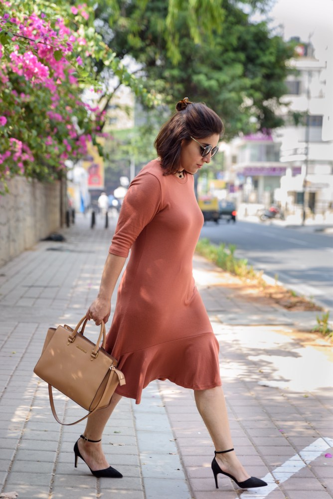 street chic, Ruffle dress