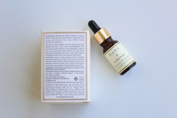 Kama Ayurveda Kumkumadi beauty review, Kumkumadi night serum review, Kama Ayurveda, Huesofme by Raman