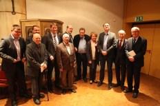 Der Vorstand mit den Jubilaren