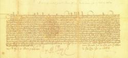 Título de Ciudad concedido a Huete por Juan II en 1428