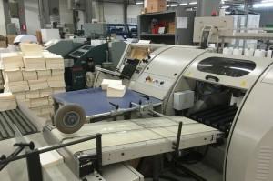 Druckmaschine für den Buchdruck