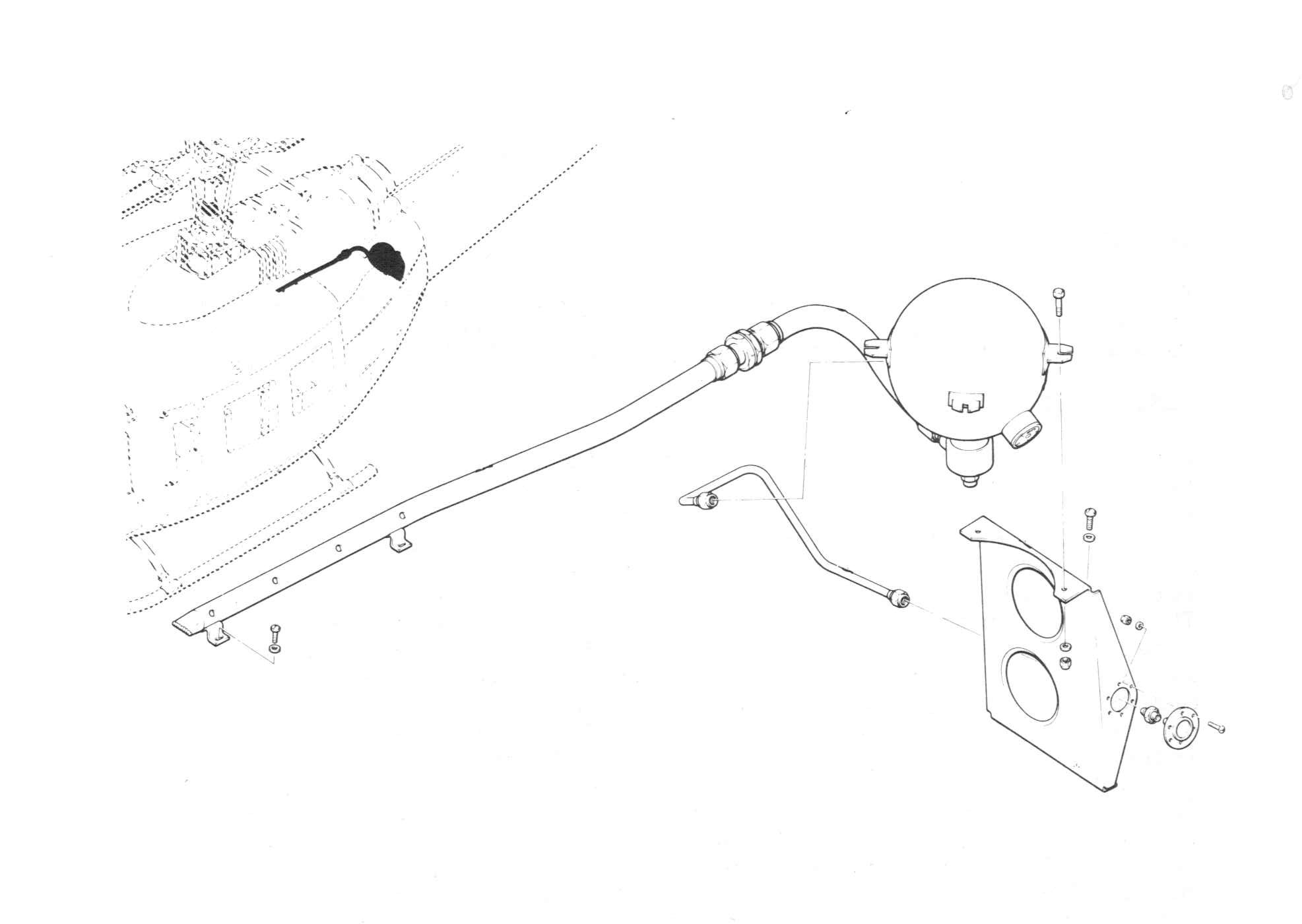 Engine oil system installation · engine orientation diagram t5313b · exploded view of helicopter