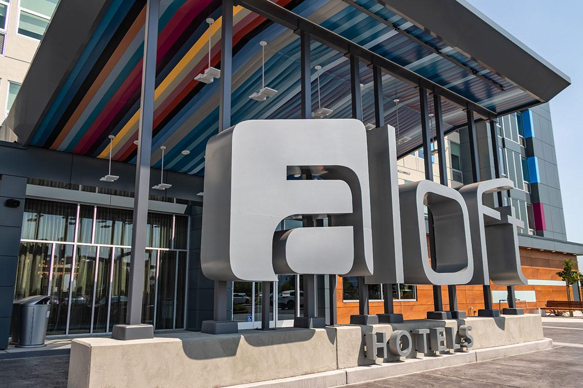 Aloft Hotel  Huff Construction