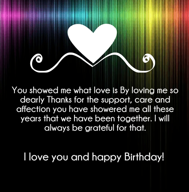 I Love You Happy Birthday Quotes and Wishes - Hug2Love