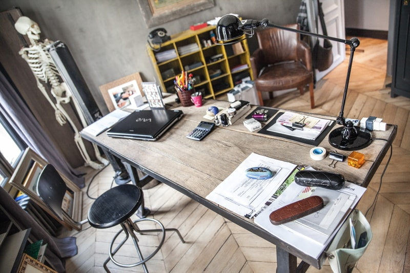 Aménagement d'un bureau