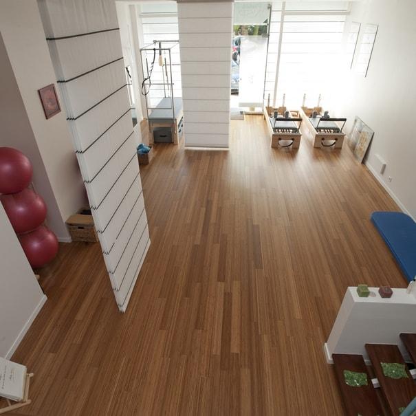 Travaux pour un studio pilates