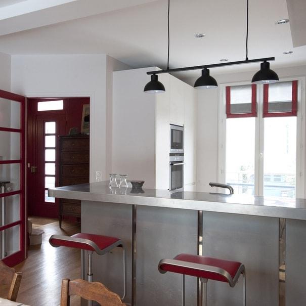 Aménagement de la salle à manger / cuisine