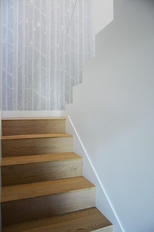 Rénovation complète de l'escalier