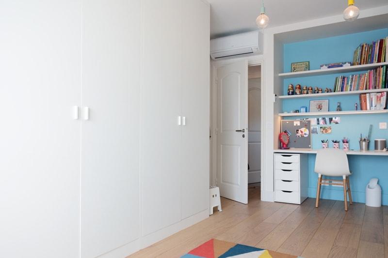 Installation d'un parquet dans les chambre enfants