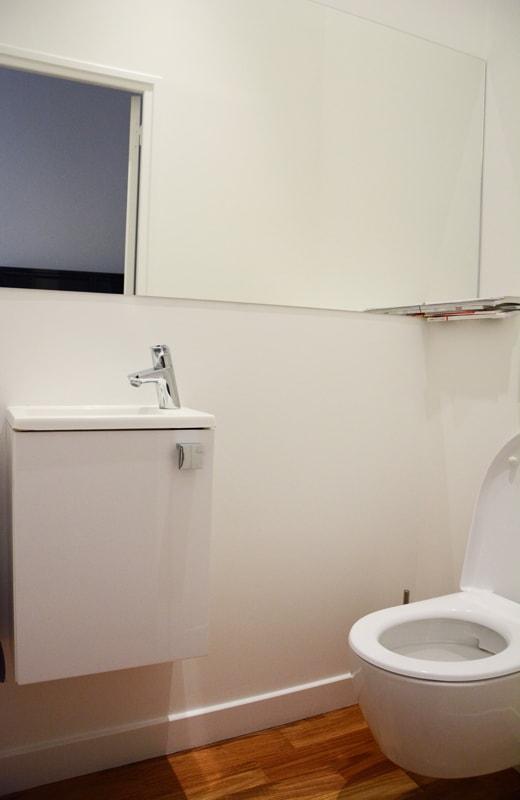 Implantation d'un WC séparé